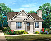 Plan Number 45167 - 658 Square Feet