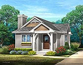 Plan Number 45169 - 644 Square Feet
