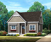 Plan Number 45184 - 494 Square Feet