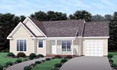 Plan Number 45203 - 1418 Square Feet