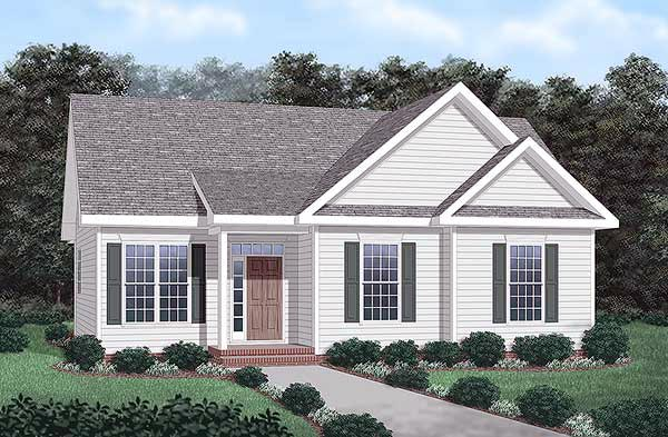 Traditional House Plan 45263 Elevation