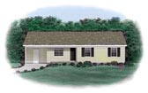 Plan Number 45303 - 1009 Square Feet