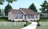 Plan Number 45306 - 1184 Square Feet