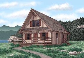 House Plan 45400