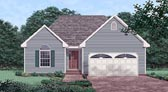 Plan Number 45506 - 1412 Square Feet