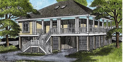 house plan 45639 at familyhomeplans com