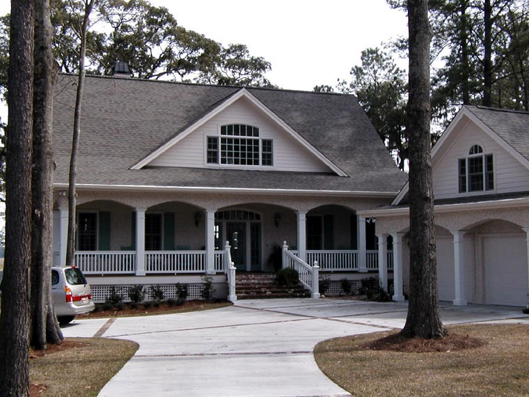 Country House Plan 45660 with 3 Beds, 4 Baths, 2 Car Garage Picture 1