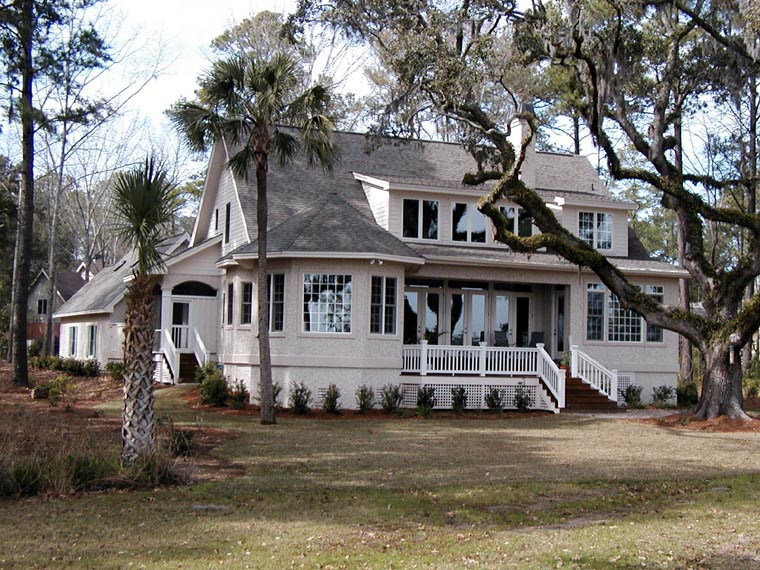 Country House Plan 45660 with 3 Beds, 4 Baths, 2 Car Garage Picture 3