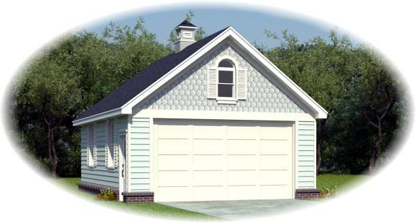 Garage Plan 45791 At Familyhomeplans Com