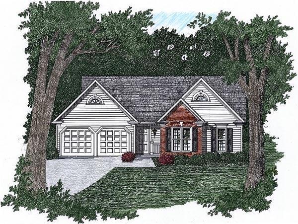 House Plan 45801
