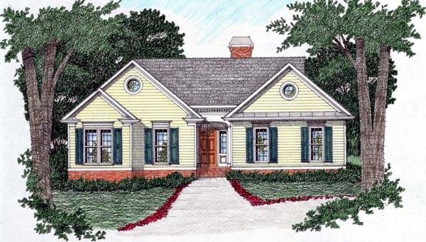 House Plan 45804