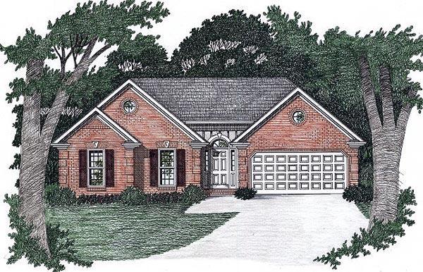 House Plan 45807