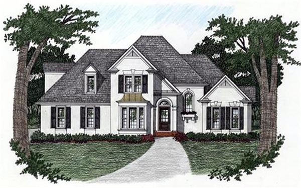 House Plan 45812