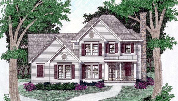 House Plan 45814