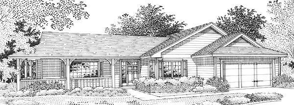Ranch House Plan 46000