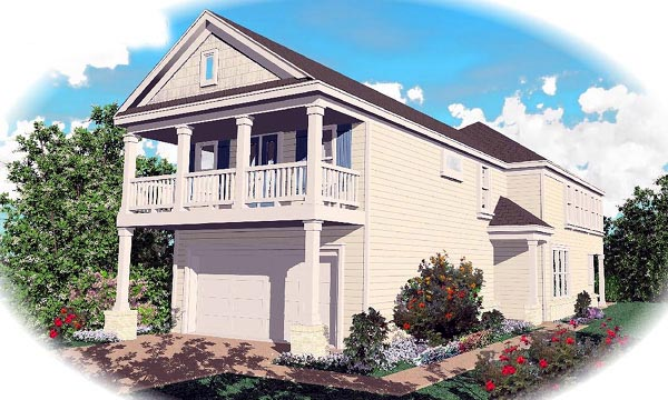 Country House Plan 46324 Elevation