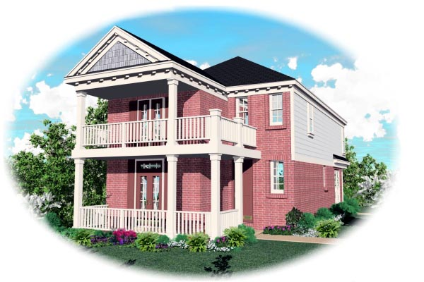 Southern House Plan 46330 Elevation