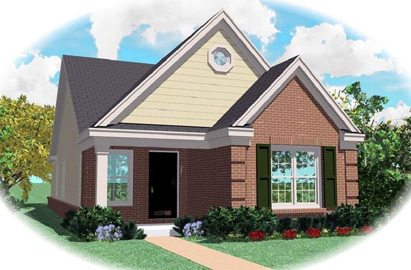 Ranch House Plan 46355 Elevation