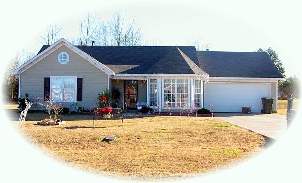 House Plan 46399 Elevation