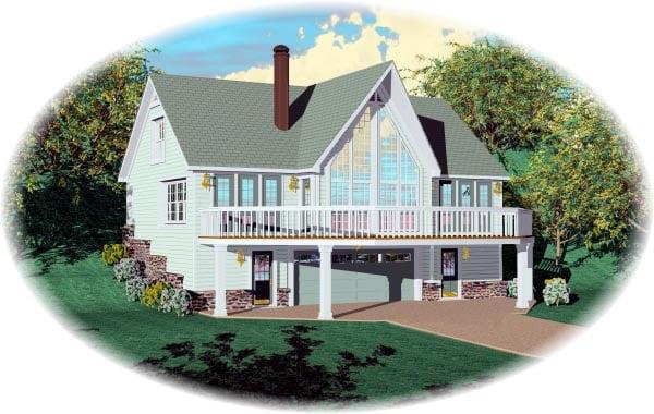 Contemporary House Plan 46410