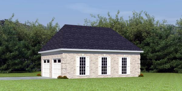 Garage Plan 46423 At Familyhomeplans Com