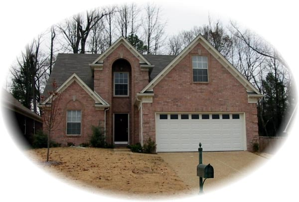 House Plan 46462 Elevation