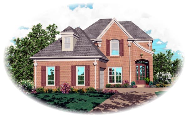 Victorian House Plan 46500 Elevation
