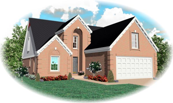 Traditional House Plan 46562 Elevation