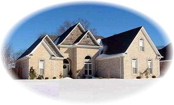 House Plan 46788 Elevation