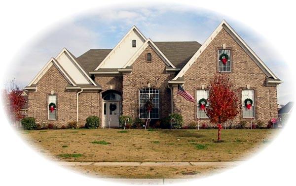 Tudor House Plan 46789 Elevation