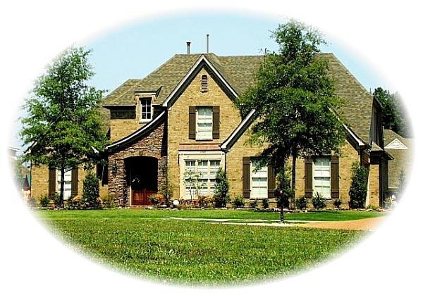 Tudor House Plan 46791 with 4 Beds, 4 Baths, 2 Car Garage Elevation