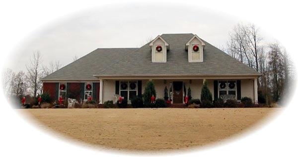 House Plan 46792 Elevation