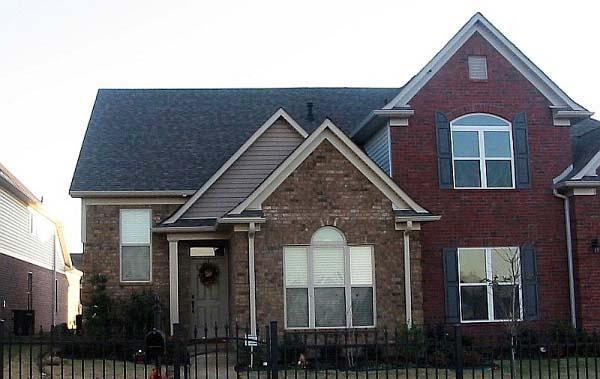 House Plan 46889 Elevation
