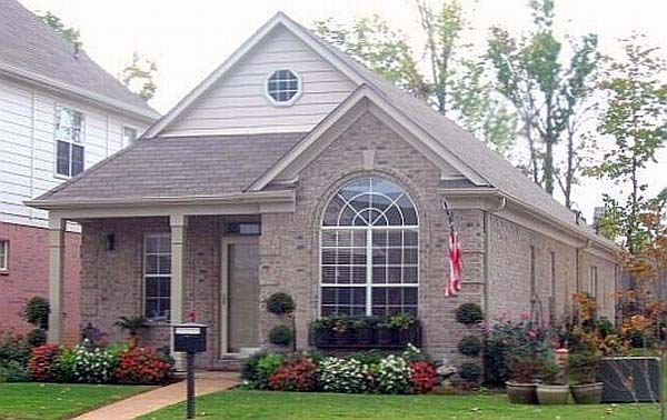 House Plan 46986 Elevation