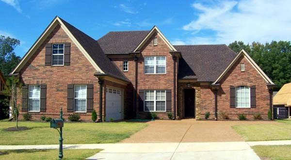 House Plan 46992 Elevation