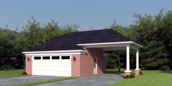 Garage Plan 47062
