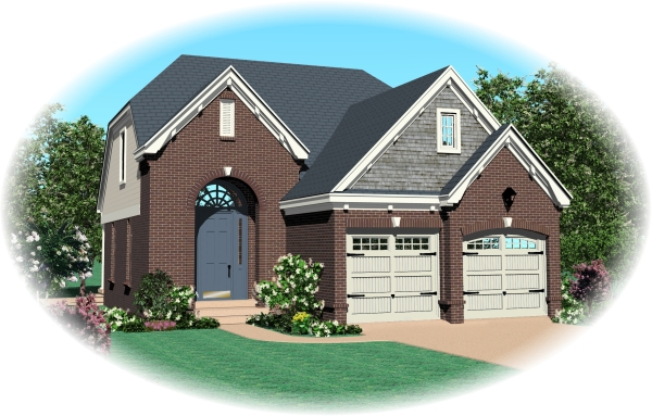 House Plan 47063 Elevation
