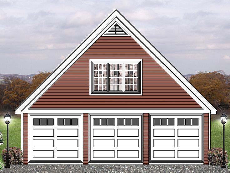 21 dream detached 3 car garage plans photo house plans for Three car detached garage plans