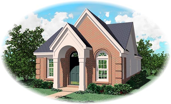 Traditional House Plan 47132 Elevation