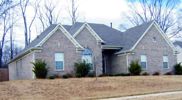 One-Story, Traditional House Plan 47447 with 3 Beds, 2 Baths, 2 Car Garage Picture 1
