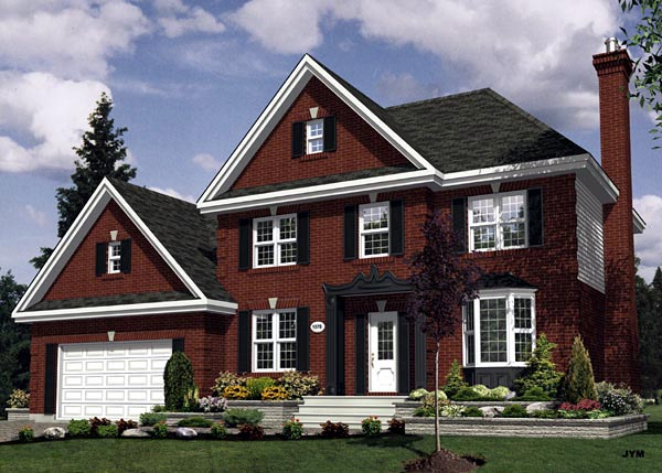 Traditional House Plan 48090 Elevation