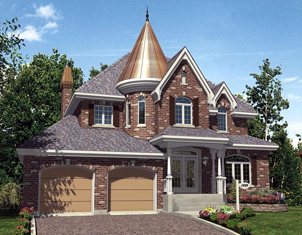 Victorian House Plan 48099 Elevation