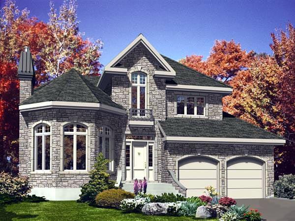 Victorian House Plan 48133 Elevation