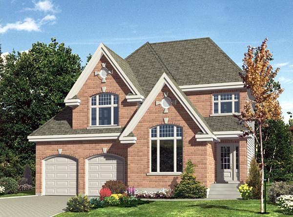 Victorian House Plan 48186 Elevation