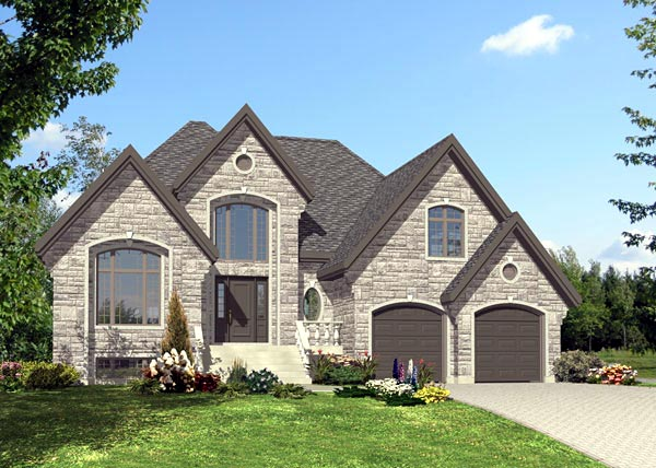 Tudor House Plan 48197 Elevation