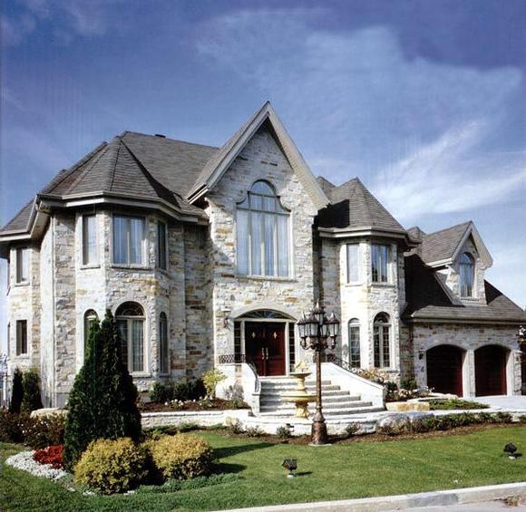 Victorian House Plan 48205 with 4 Beds, 3 Baths, 2 Car Garage Elevation