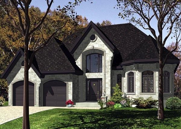 Victorian House Plan 48206