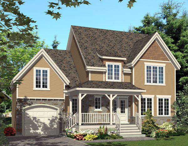 Country House Plan 48241 Elevation