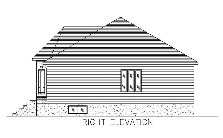 European House Plan 48262 with 5 Beds, 2 Baths Picture 2