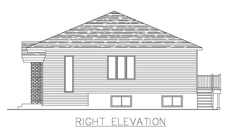 Multi-Family Plan 48296 with 8 Beds, 4 Baths Picture 2